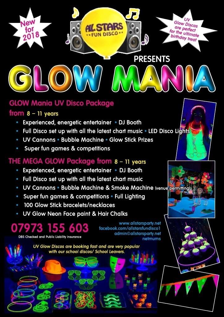 Glow Mania Party