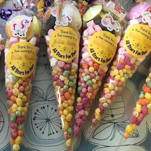 Sweet cones custon wrap